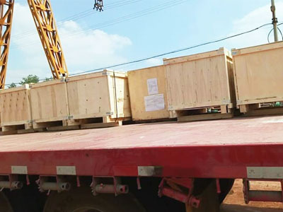 Monorail Crane Exported to Uzbekistan