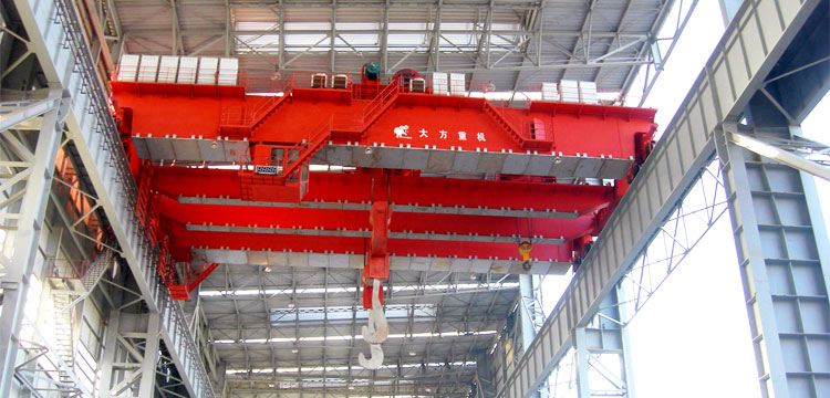 200T Casting Overhead Crane for Sale