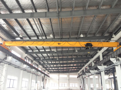 AQ-HD Single Girder Bridge Crane for Sale