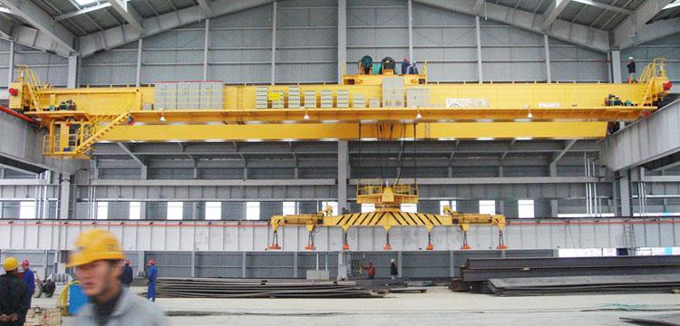 Double Girder Magnetic Overhead Crane