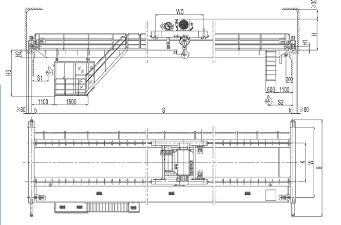 Electric Hoist Crane Design