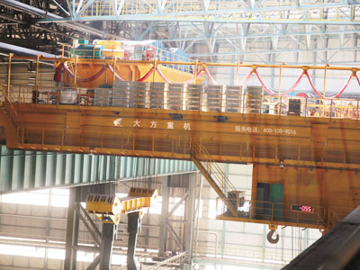 Steel Mill Casting Bridge Crane