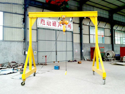 5 Ton Mobile Gantry Crane
