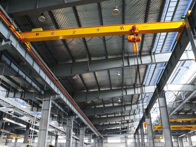 5T Overhead Bridge Crane With Chain Hoist