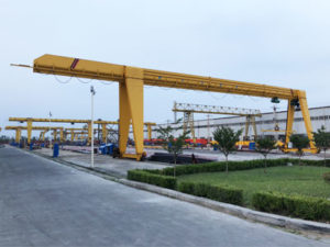 Single Girder Gantry Crane for Sale