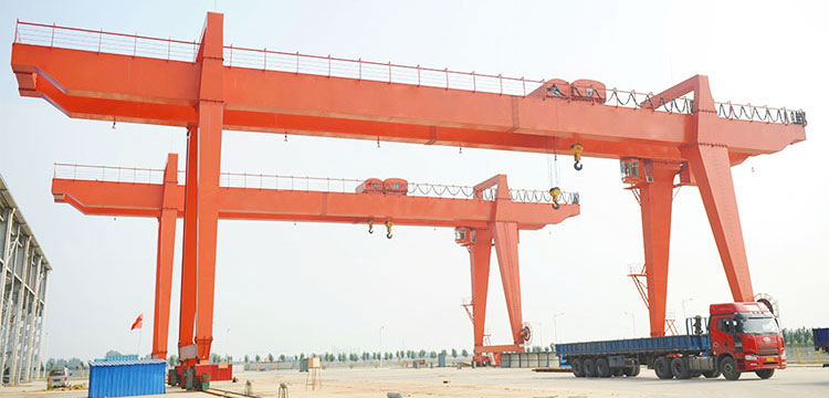 Double Girder A Frame Gantry Crane