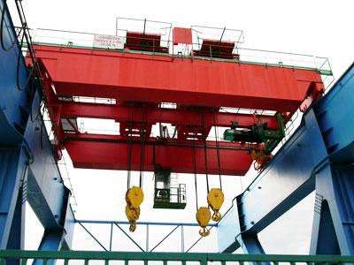 Double Trolley Overhead Crane