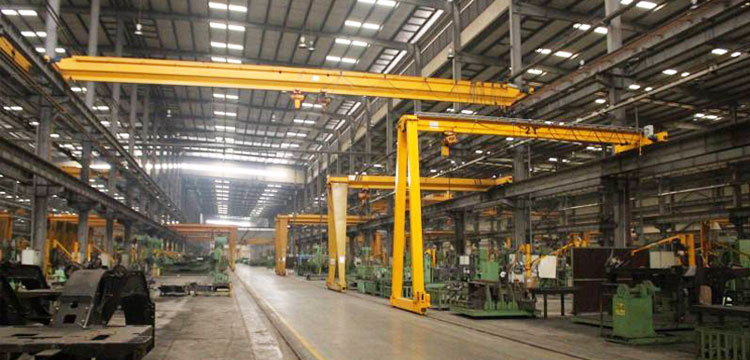 Indoor Semi Gantry Crane