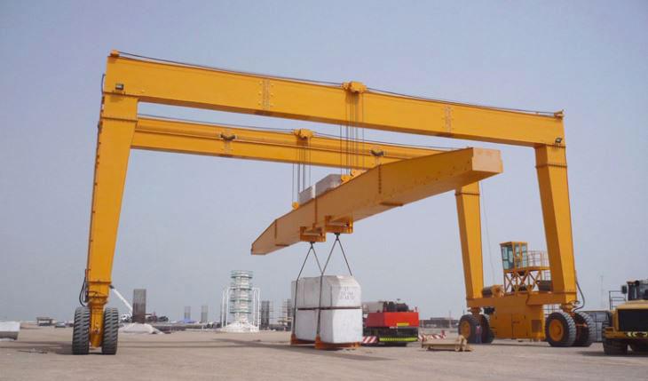 Large Mobile Gantry Crane