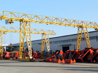 Single Girder Truss Gantry Crane for Sale