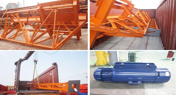 10 Ton Truss Gantry Crane Exported to Philippines
