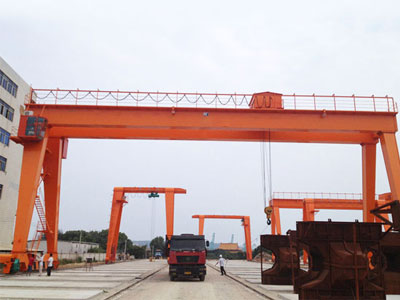 A-frame Double Girder Gantry Crane