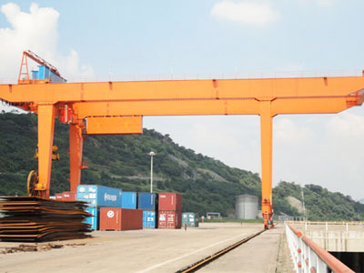 U Type Double Beam Gantry Crane