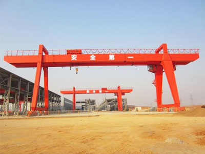 Double Girder Gantry Crane 10 Ton