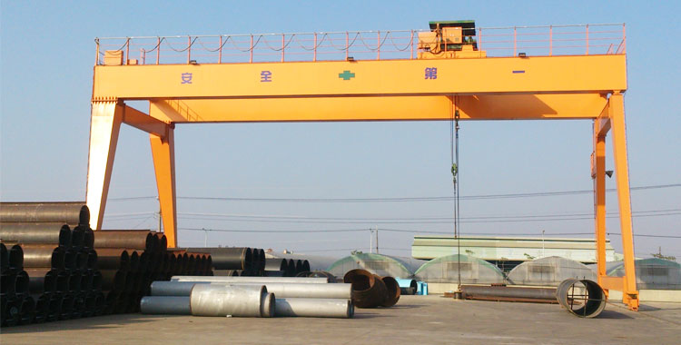 Durable Double Girder Gantry Crane 50 Ton