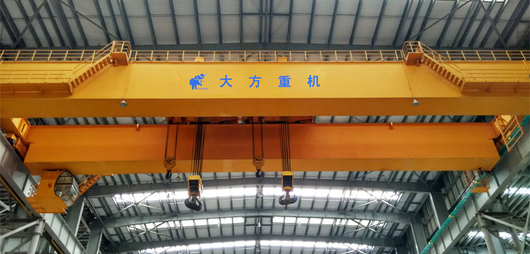 250t+250t Double Trolley Top Running Bridge Crane