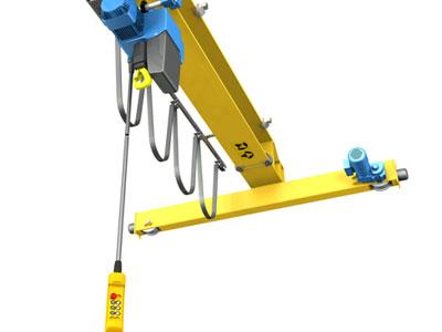 Overhead Crane With Pendant Control