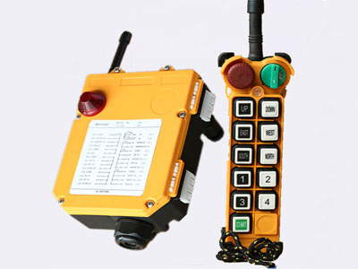 Remote Control for Overhead Crane