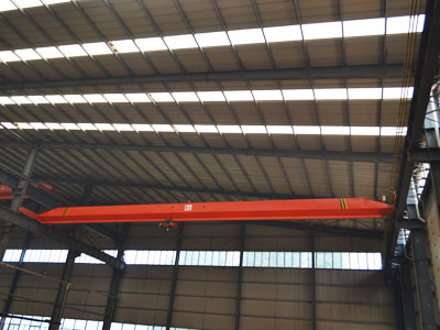 Single Girder Overhead Crane Manufacturer