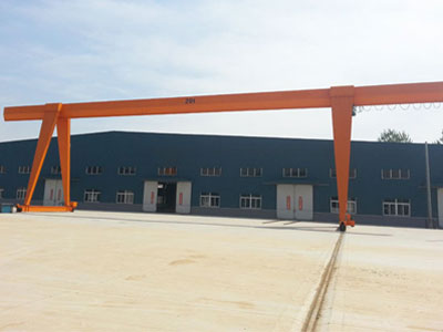 Single Girder Gantry Crane Cost