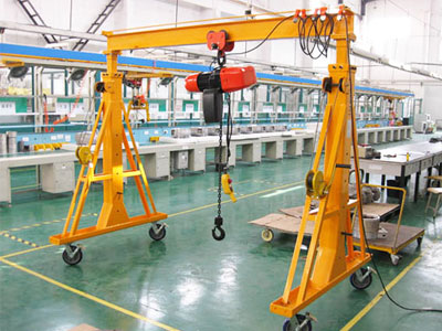 Small Mobile Gantry Crane for Sale