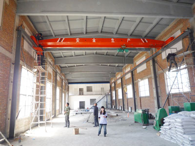 Top Running Overhead Crane Supplier