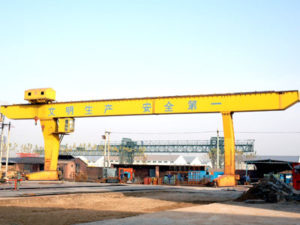 L Type Single Beam Gantry Crane for Sale