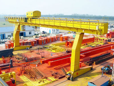 L-shaped Leg Gantry Crane