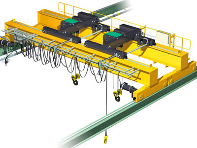 Double Trolley Overhead Crane