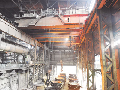 Double Girder Foundry Crane for Sale