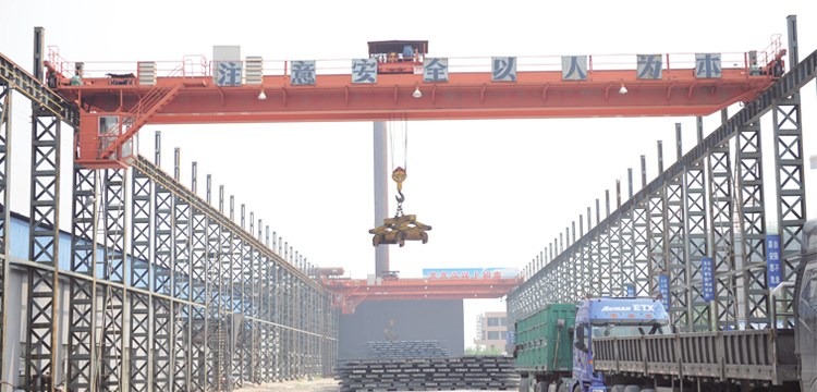 Outdoor Overhead Crane for Steel Factory