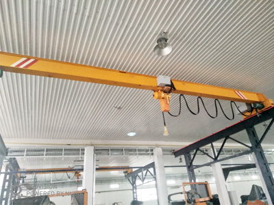 LD 2T Overhead Crane With Electric Chain Hoist