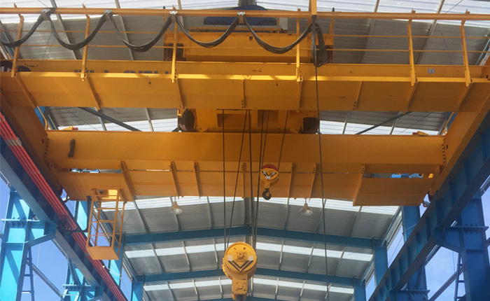 Overhead Crane Installed in A New Building Structure