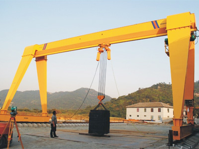 Single Girder 15 Ton Gantry Crane for Sale