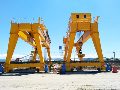 Rail Mounted Gantry Crane Installation