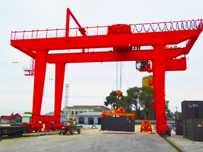 40.5T Container Crane for Mongolia Client