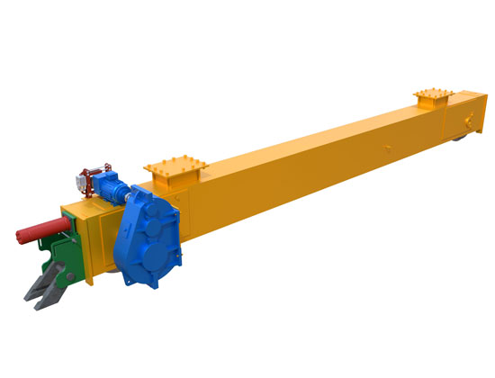 Crane Running Mechanism