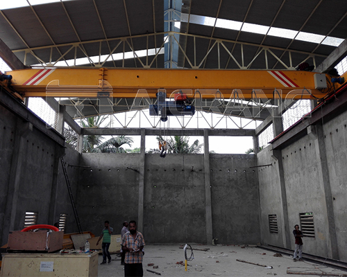 AQ-LD Single Girder 15 Ton Overhead Crane for Sale