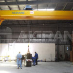 Installation of 5 Ton Hoist Double Girder Gantry Crane