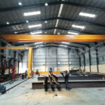 Installation of AQ-NLH 10 Ton Overhead Crane And Semi Gantry Crane