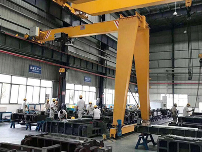 10 Ton Semi Gantry Crane for Sale