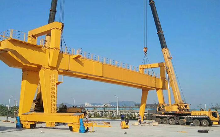 50 Ton Gantry Crane Installation