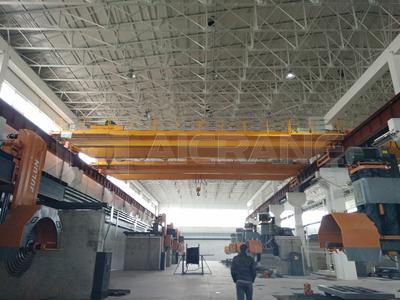 AQ-LH Hoist Double Girder Overhead Crane for Sale