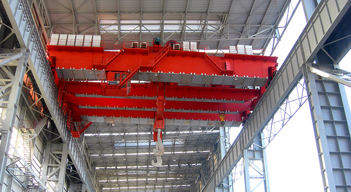 AQ-YZ 220 Ton Overhead Crane With Four-beam Four-track Structure