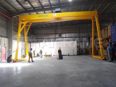 Double Girder Gantry Crane 5 Ton for Sale