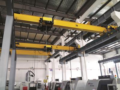 European Electric Hoist Overhead Crane 3 Ton for Sale