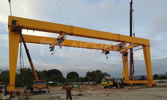 U Type Gantry Crane 40 Ton for Sale