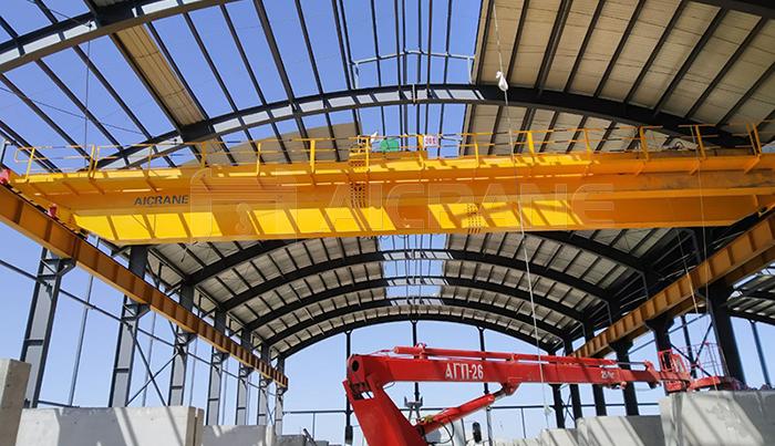 Double Girder Hoist Overhead Crane Installation