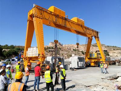 Large Mobile Gantry Crane Price