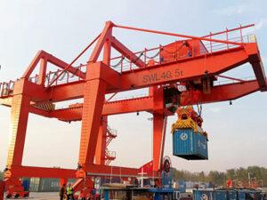 Rail Mounted Gantry Crane Manufacturer
